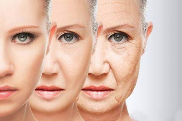 دلایل پیری پوست